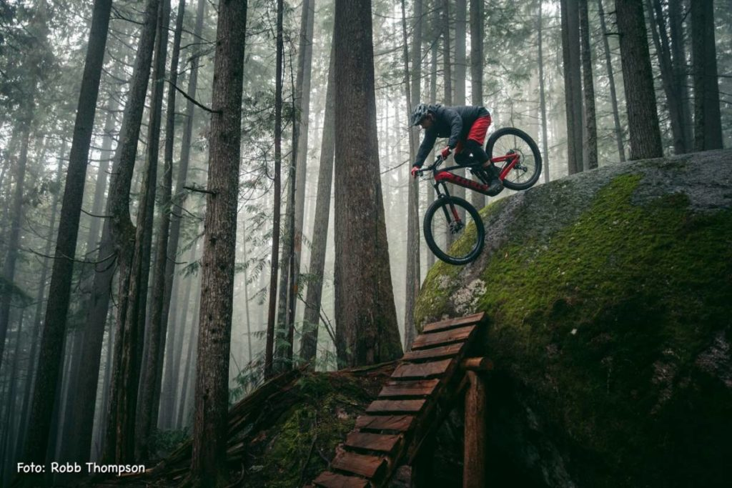 Faszinierende Trails in British Columbia